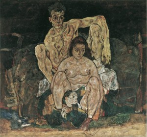 egon schiele family painting