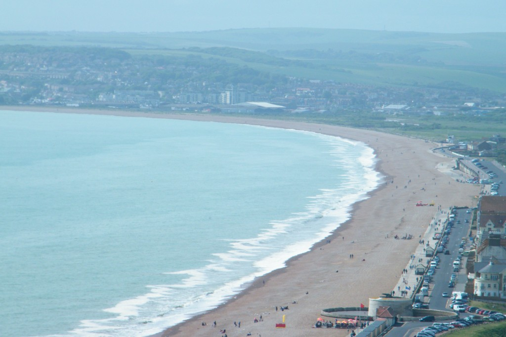 Seaford Bay from Seaford Head