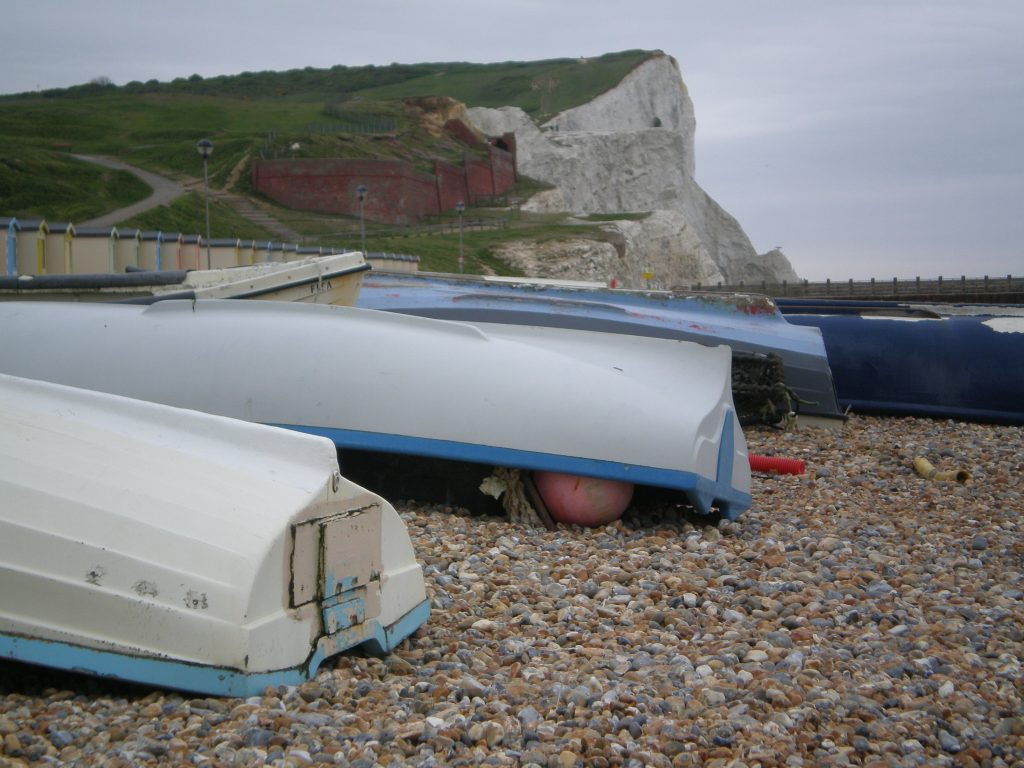 Seaford Head beach