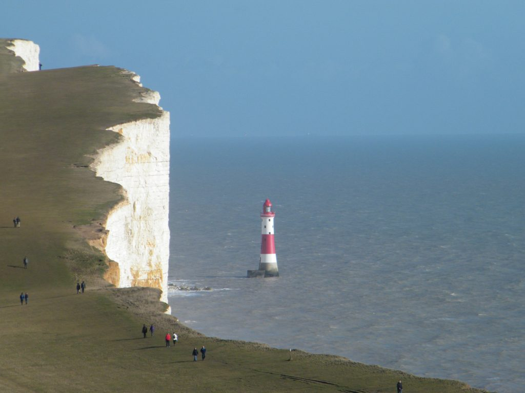 Beachy head lighthouse Eastbourne