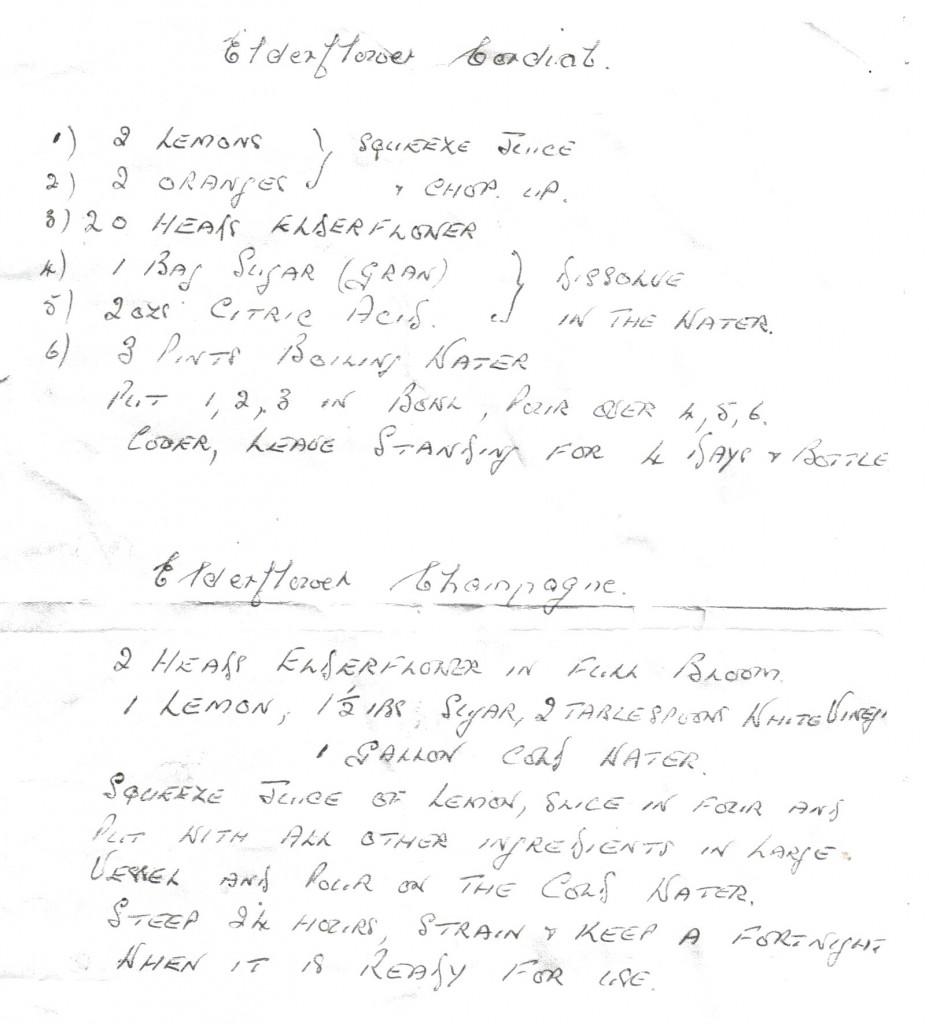 elderflower recipes