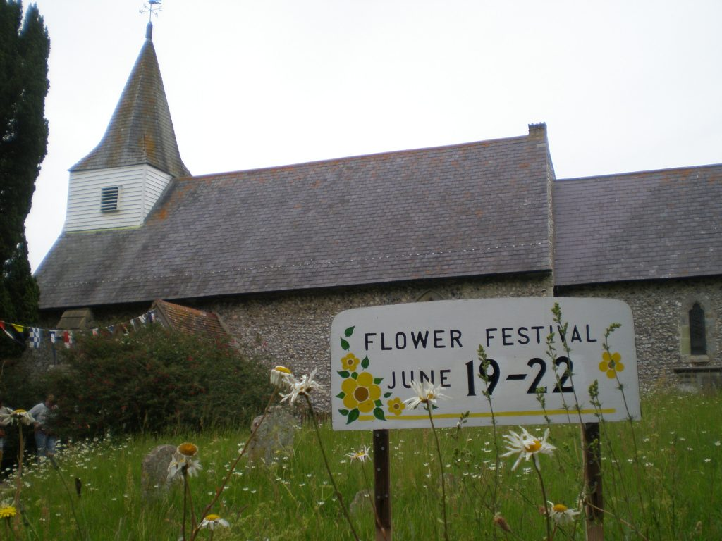 oxeye daisies littlington flower festival church