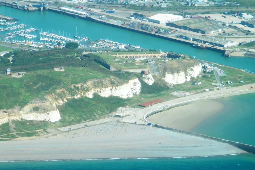 Newhaven beach & fort