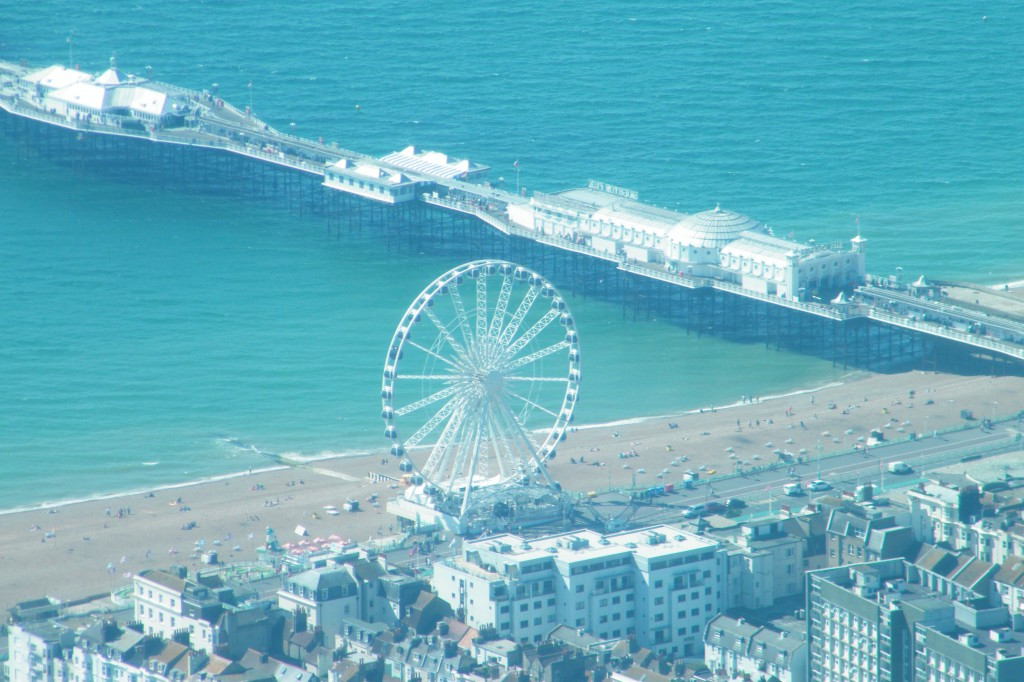 Palace pier and wheel