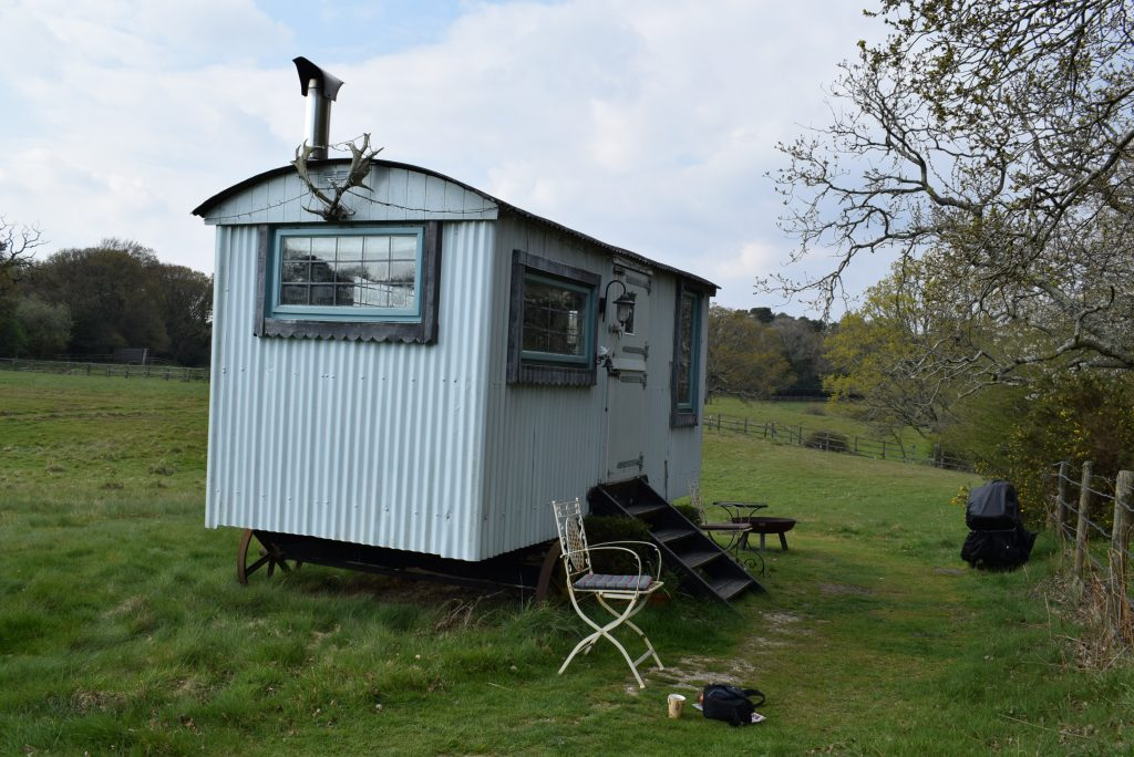 nature break shepherds hut