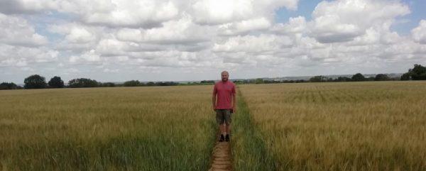 mike barley field kent 2020