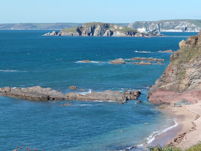 devon coastline sept 2020